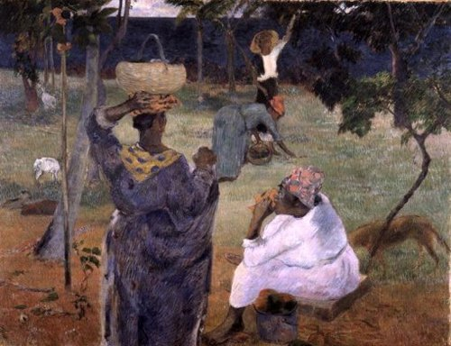 Among the Mangoes 1887 | Paul Gauguin | oil painting