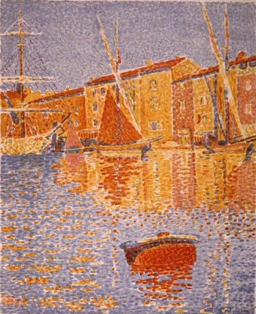 Havengezicht 1895 | Paul Signac | oil painting