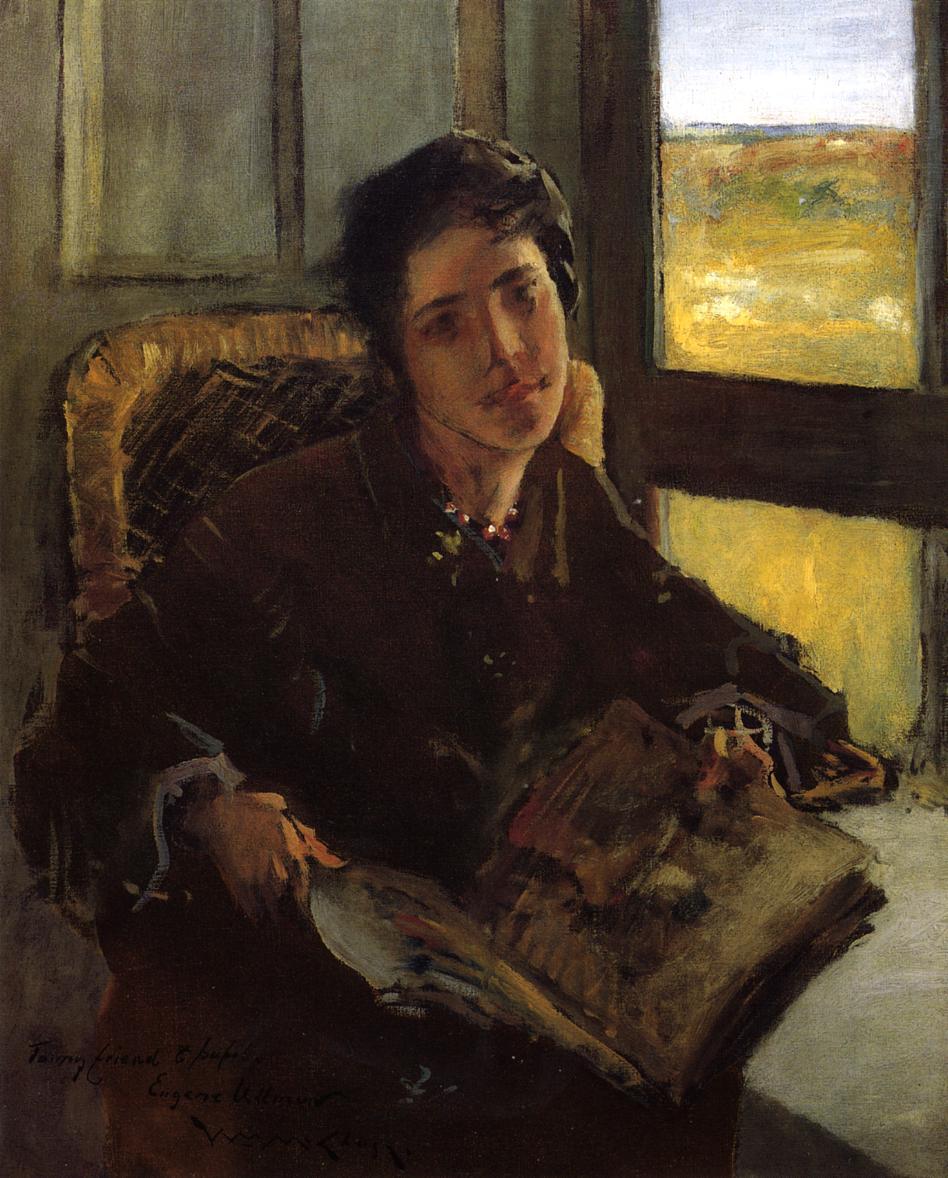 Alice Dieudonne Chase Shinnecock Hills  1902 | William Merritt Chase | oil painting