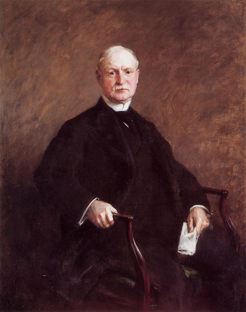 G. Colesberry Purves Esq.  1905 | William Merritt Chase | oil painting