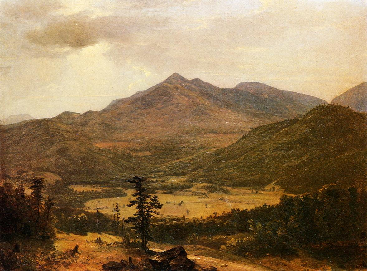 Adirondacks 1848 | Asher B Durand | oil painting