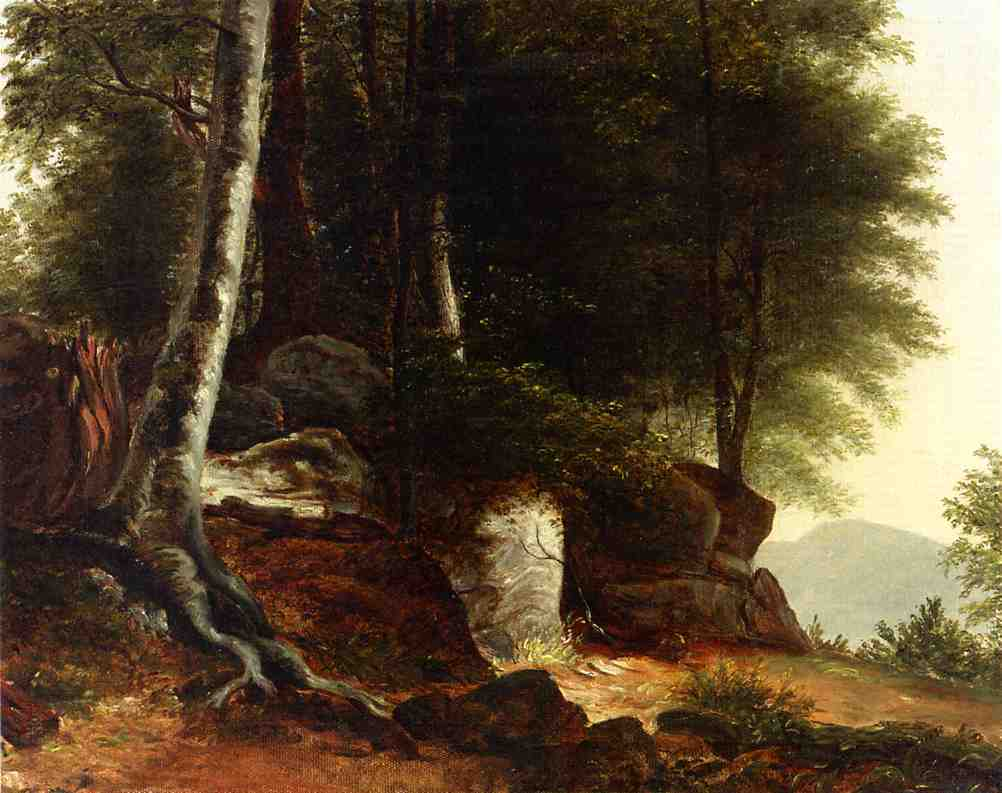 A Study from Nature 1845 | Asher B Durand | oil painting