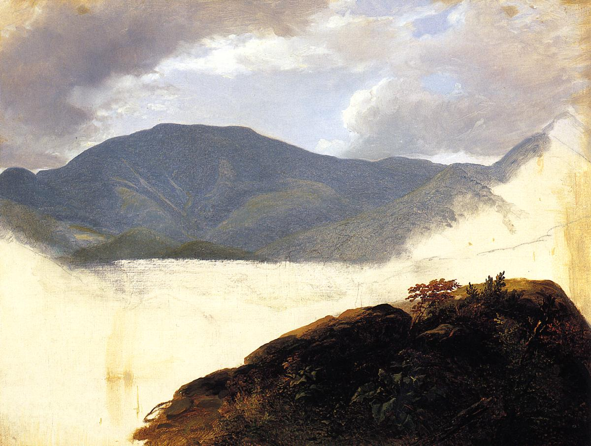Hudson River Sketch 1850-1857 | Asher B Durand | oil painting