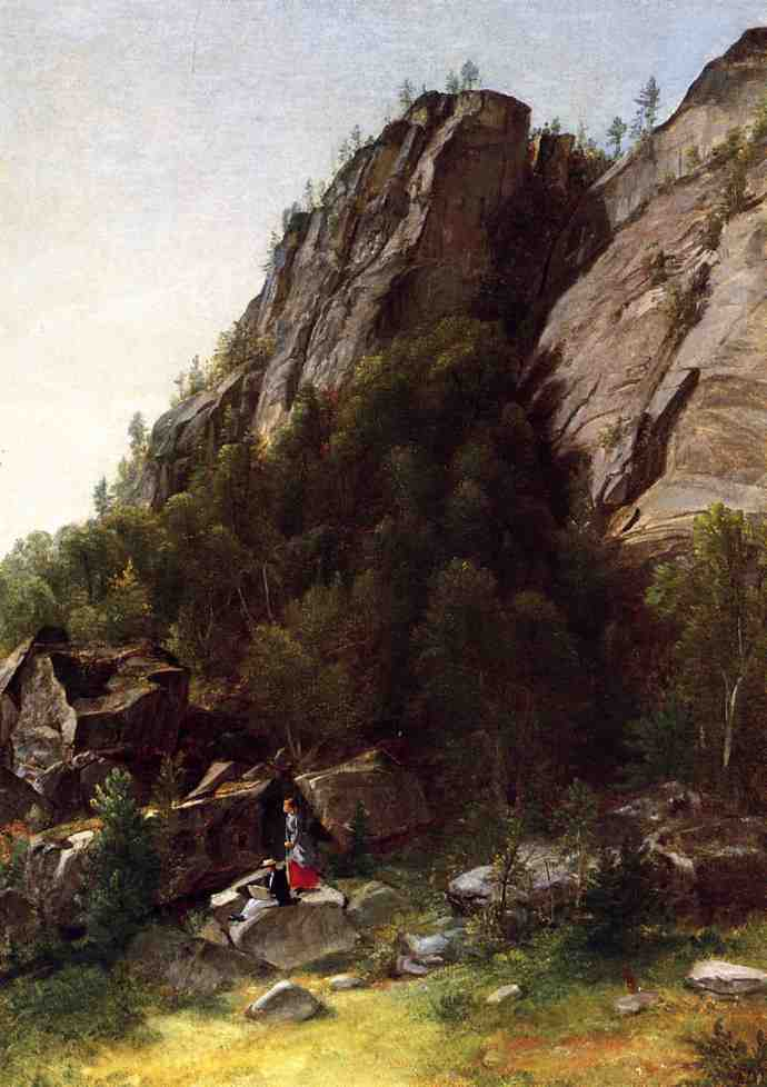 Landscape with Figures | Asher B Durand | oil painting