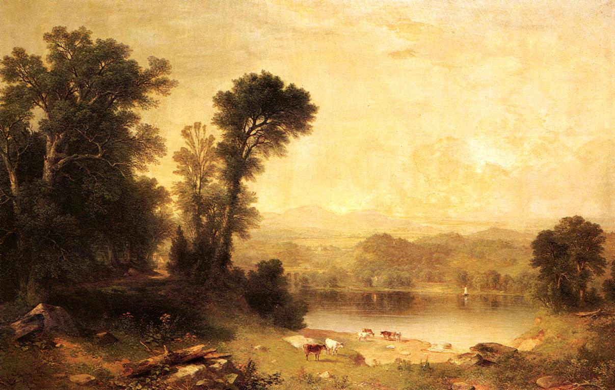 Pastoral Scene 1861 | Asher B Durand | oil painting
