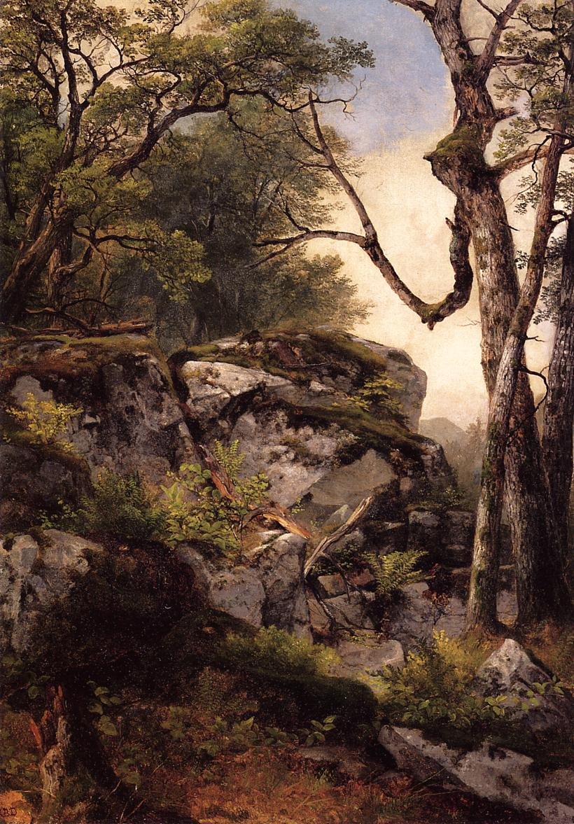 Woodland Scene 1850 | Asher B Durand | oil painting