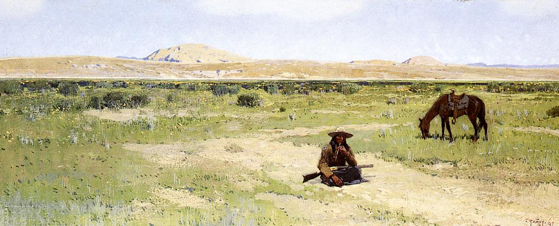 A Rest in the Desert 1897 | Henry Farny | oil painting