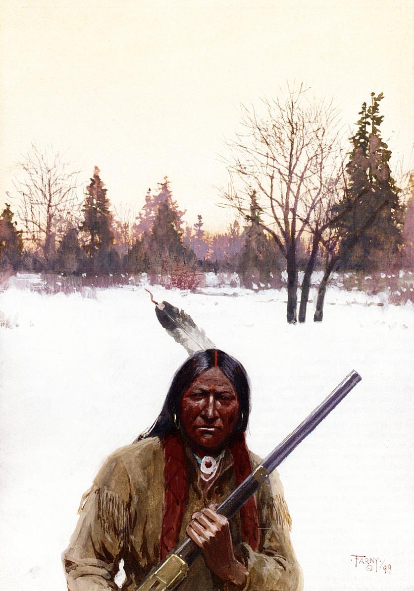 Hunter 1899 | Henry Farny | oil painting
