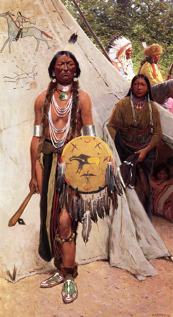 Indians 1900 | Henry Farny | oil painting