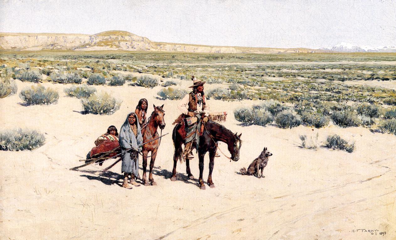 New Territorry 1893 | Henry Farny | oil painting