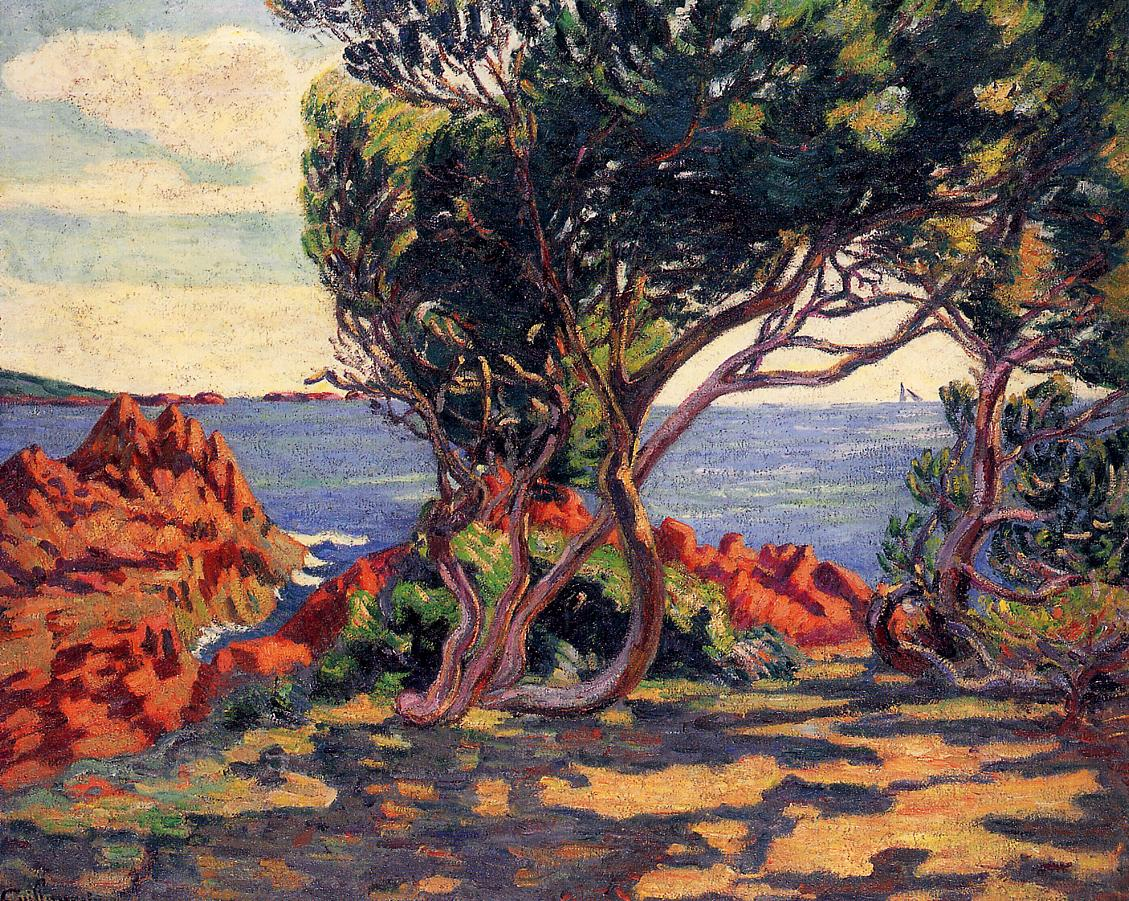 Agay at Cap Long 1895 | Armand Guillaumin | oil painting