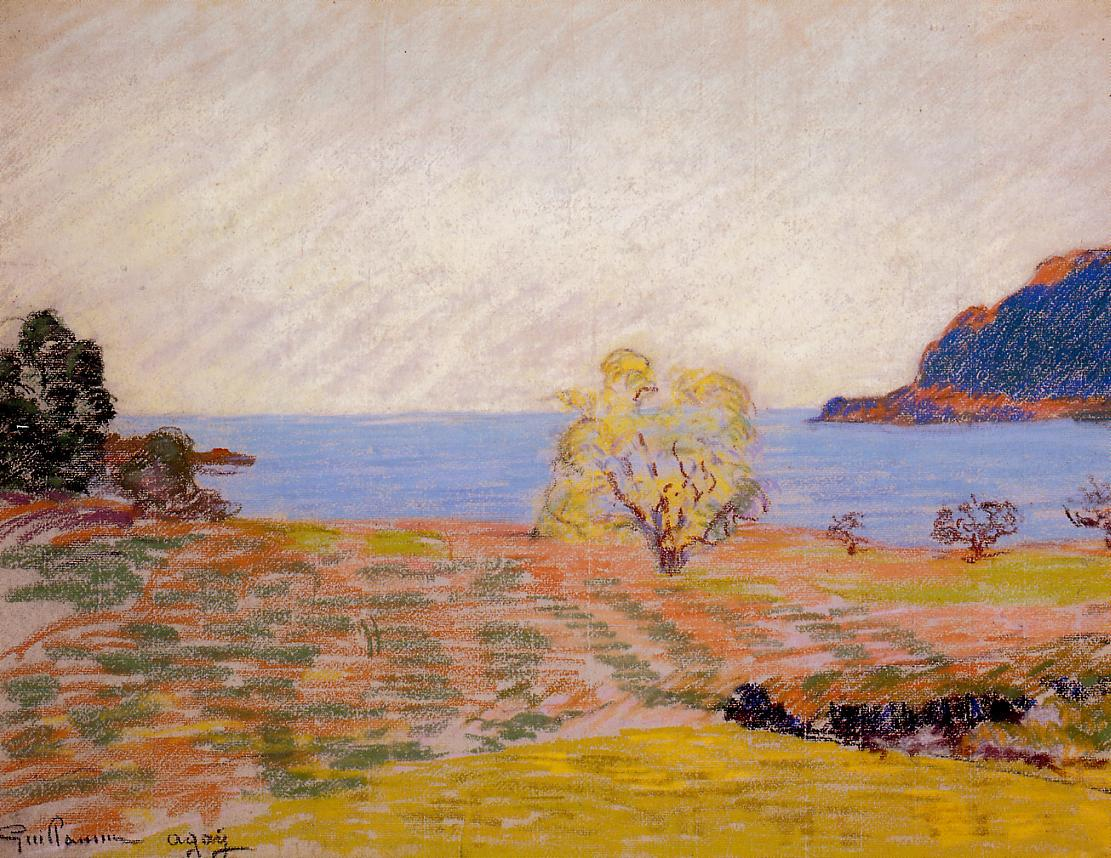 Agay Landscape 1900 | Armand Guillaumin | oil painting