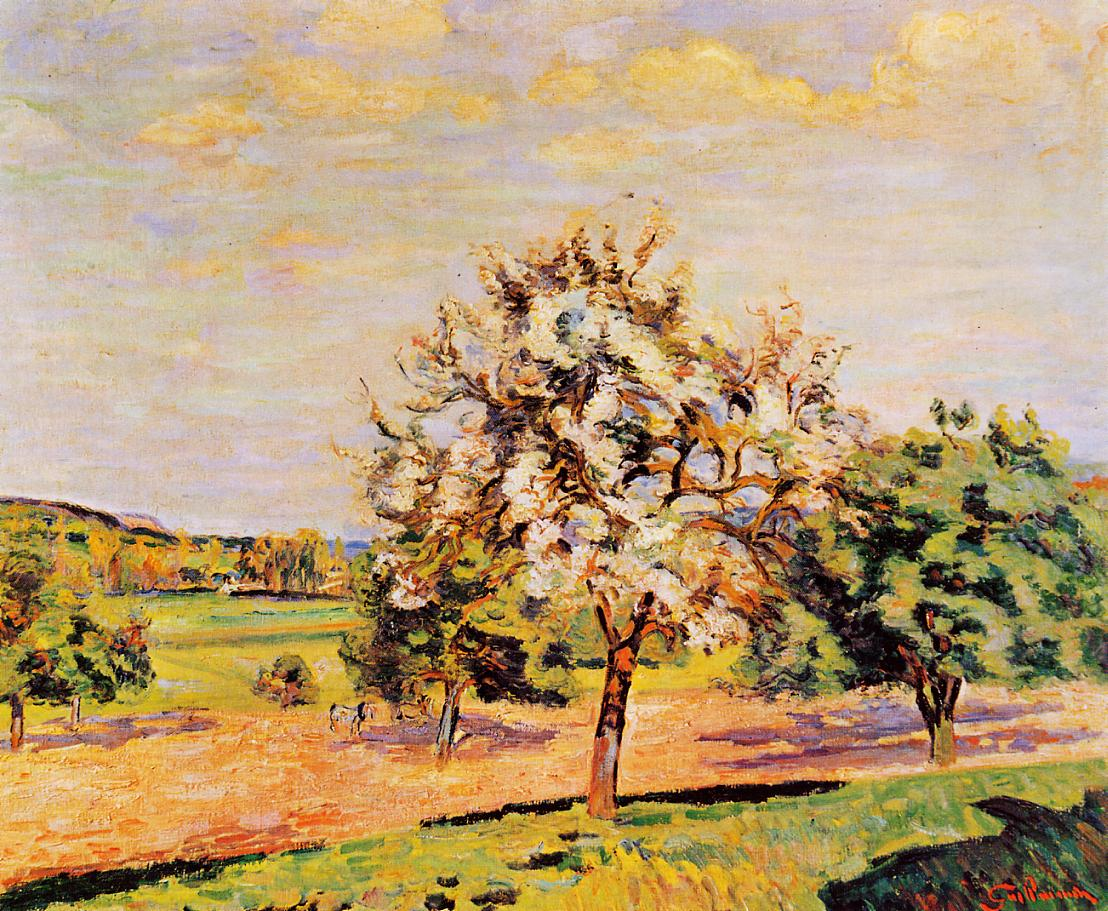 Apple Trees in Bloom 1889 | Armand Guillaumin | oil painting