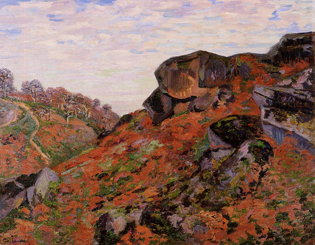 Creuse Landscape 1900 | Armand Guillaumin | oil painting