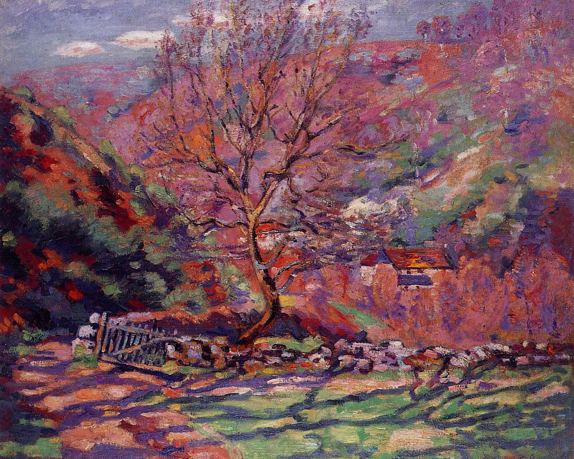 Crozand Solitude 1915 | Armand Guillaumin | oil painting
