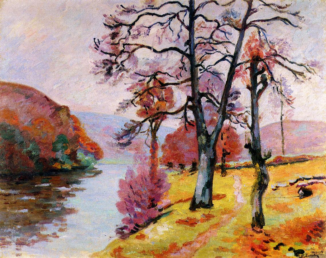 Crozant Echo Rock Winter 1912 | Armand Guillaumin | oil painting