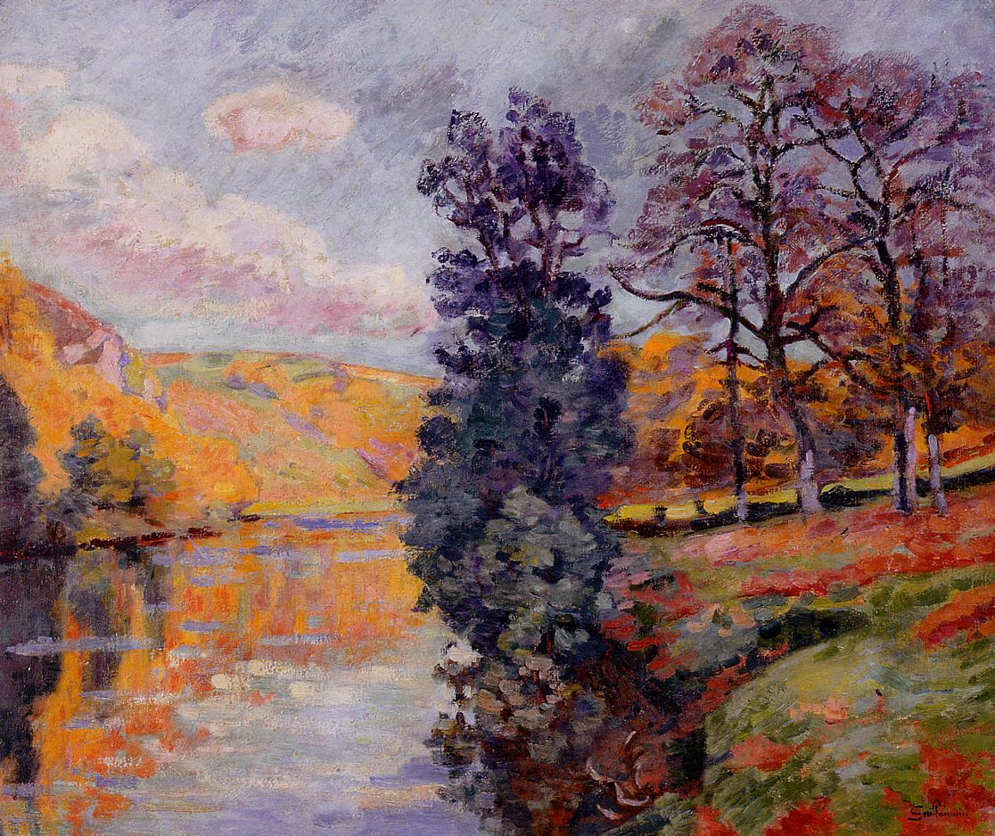 Crozant Echo Rock 1913 | Armand Guillaumin | oil painting