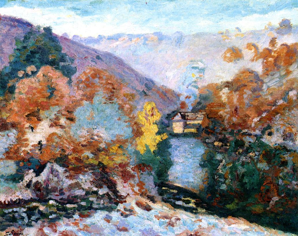 Crozant Landscape La Folie 1910 | Armand Guillaumin | oil painting