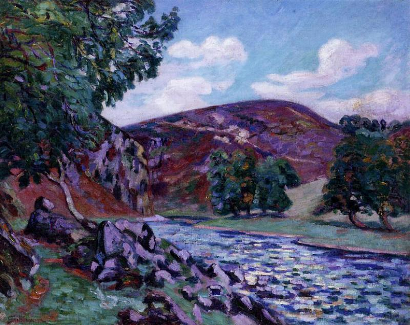 Crozant Landscape 1900 | Armand Guillaumin | oil painting