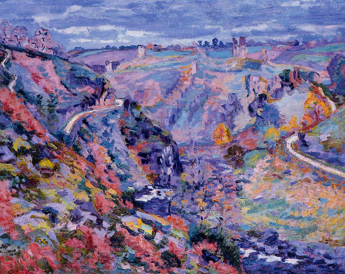 Crozant Landscape 1905 | Armand Guillaumin | oil painting