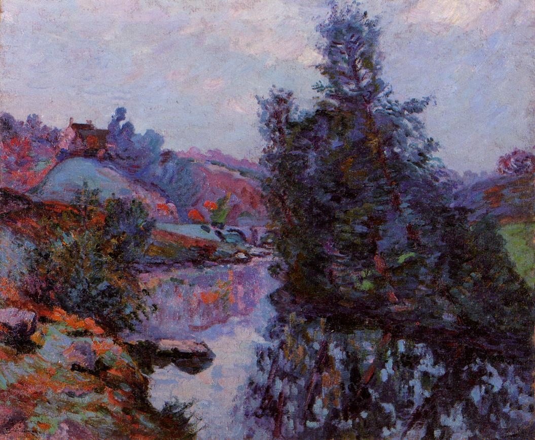 Crozant the Bouchardon Mill 1906 | Armand Guillaumin | oil painting
