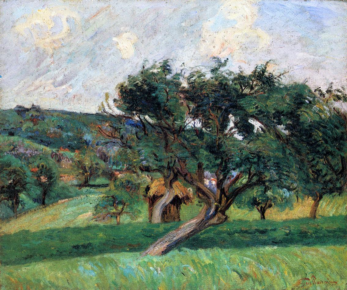 Damiette Landscape 1890 | Armand Guillaumin | oil painting
