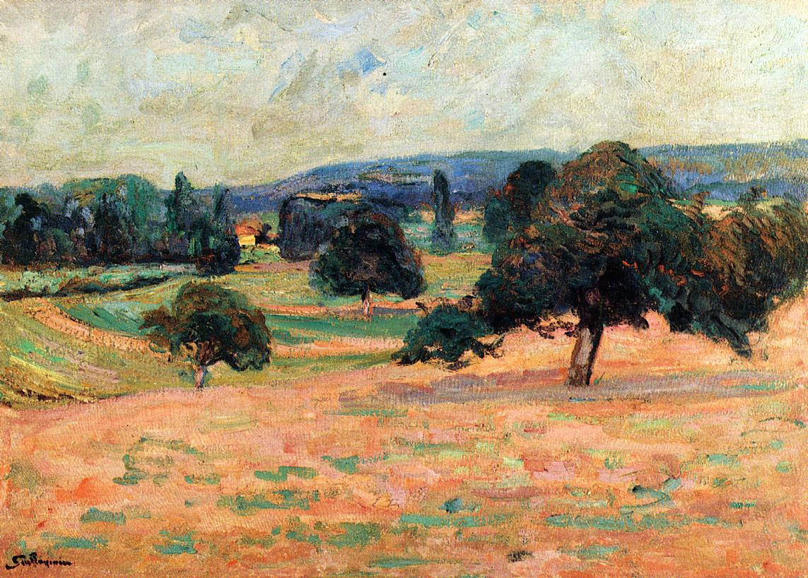 Ile de France Landscape 1895 | Armand Guillaumin | oil painting