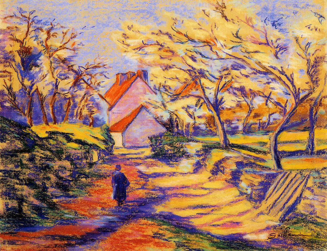 In the Countryside 1895 | Armand Guillaumin | oil painting