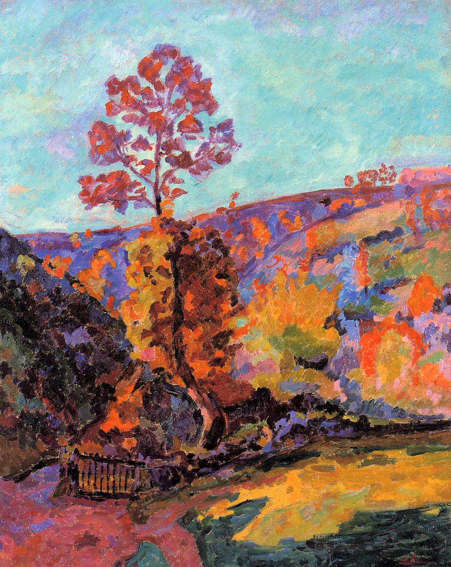 Landscape at Crozant 1917 | Armand Guillaumin | oil painting