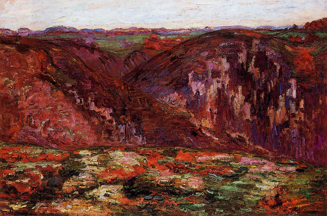 Landscape La Creuse 1905 | Armand Guillaumin | oil painting