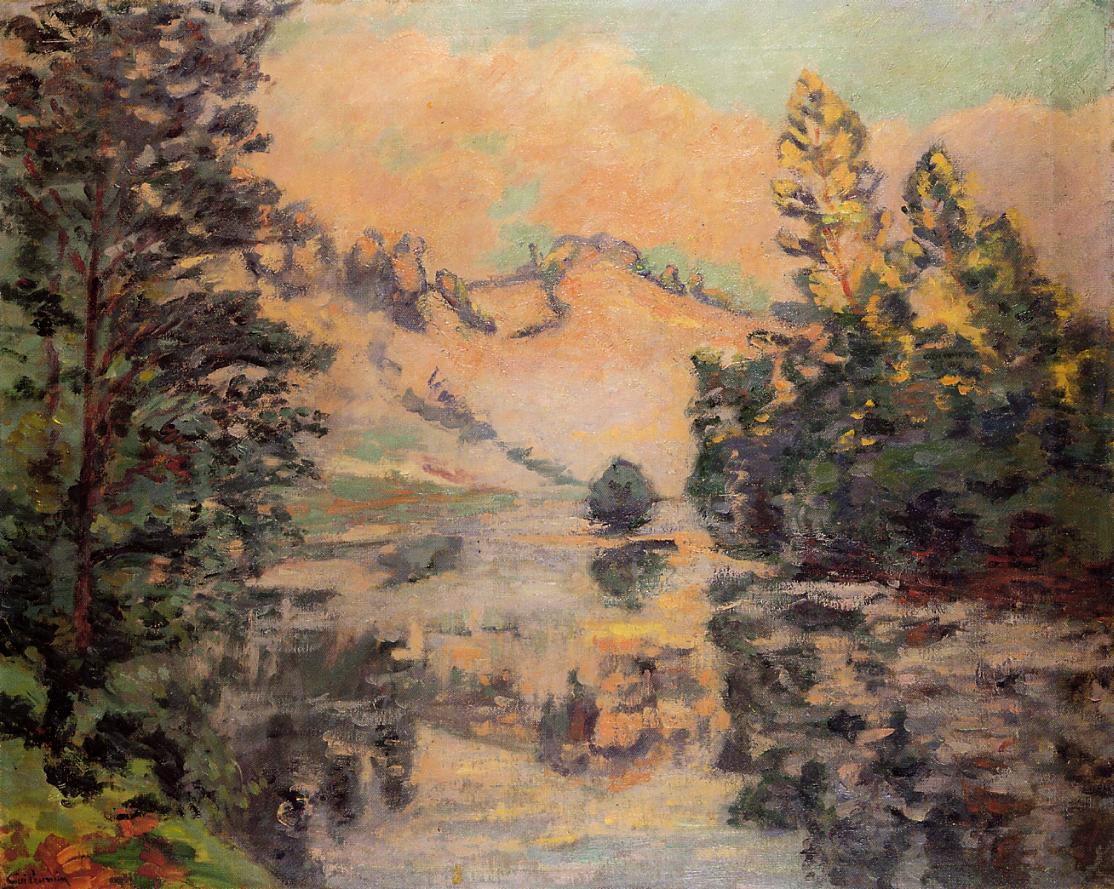 Landscape the Creuse 1897   Armand Guillaumin   oil painting