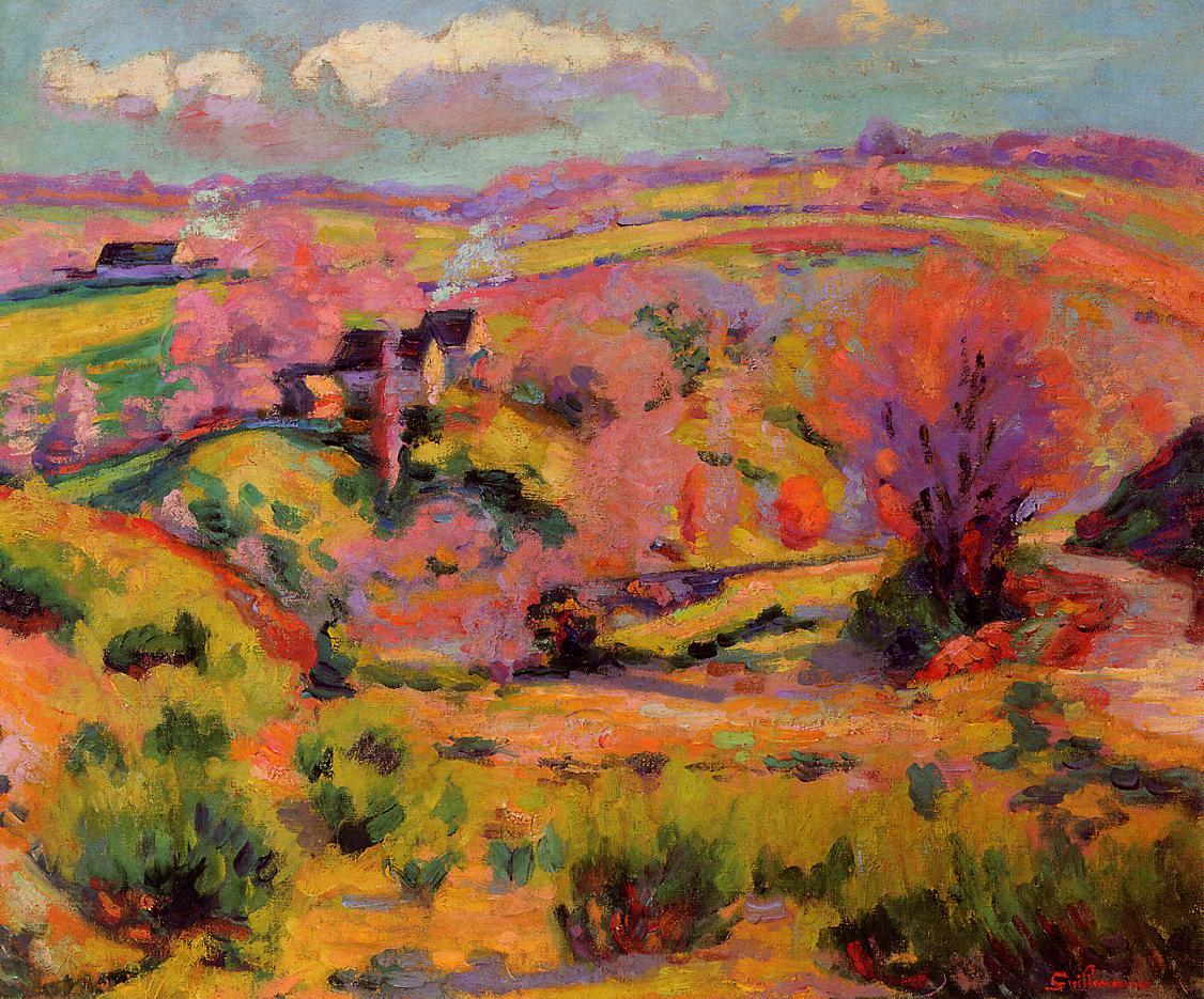 La Creuse Landscape Spring | Armand Guillaumin | oil painting