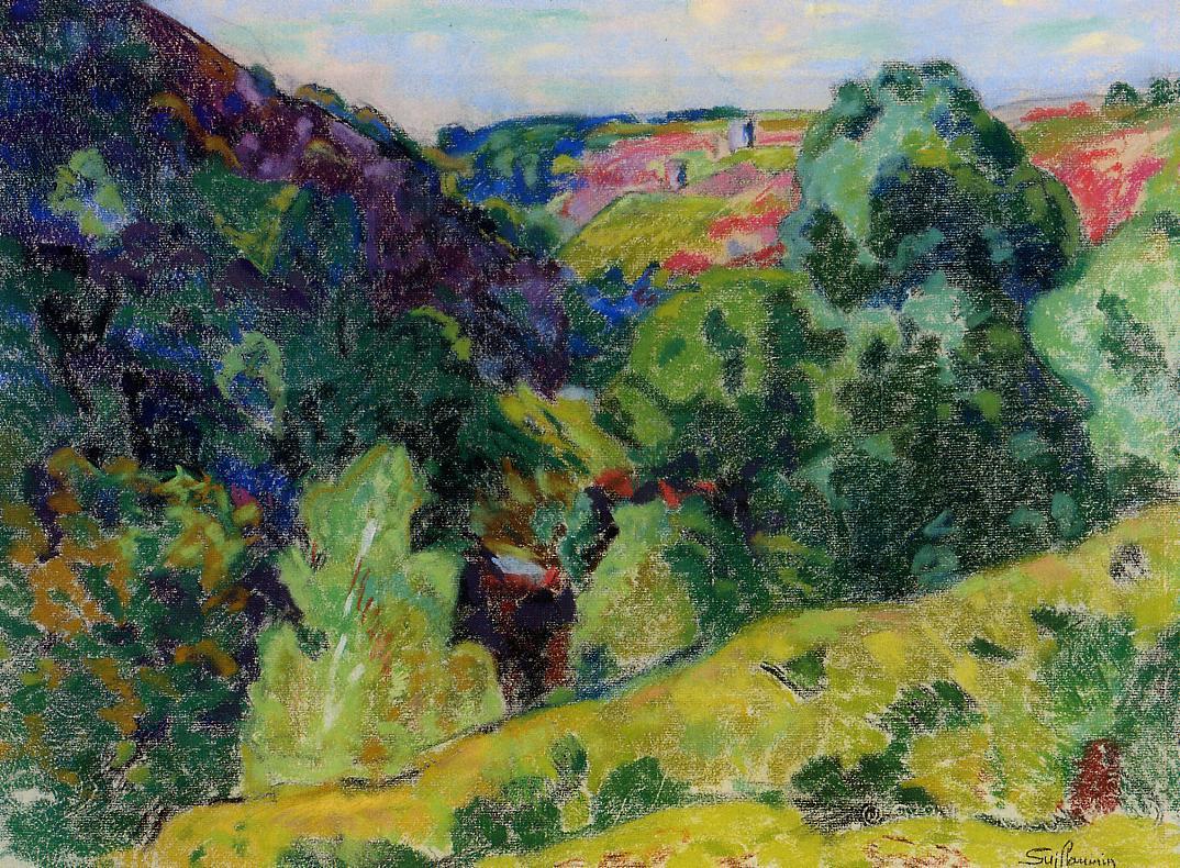 La Creuse Landscape | Armand Guillaumin | oil painting