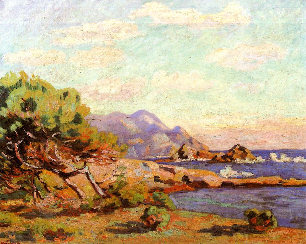 La Pointe du Lou Gaou 1911 | Armand Guillaumin | oil painting