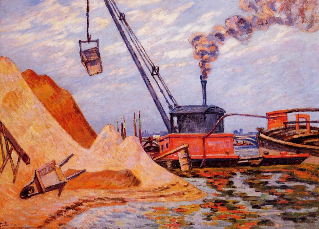 Le Quai d'Austerlitz 1899 | Armand Guillaumin | oil painting