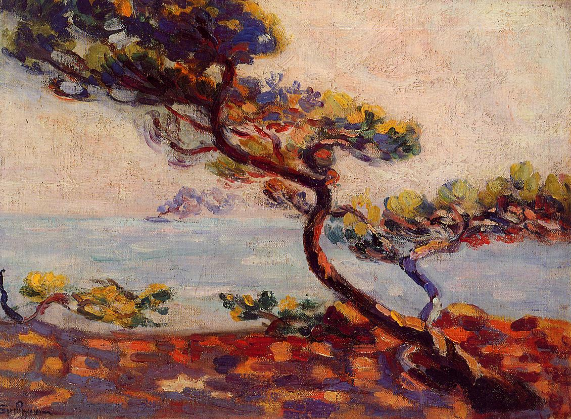 Midday in France 1910 | Armand Guillaumin | oil painting