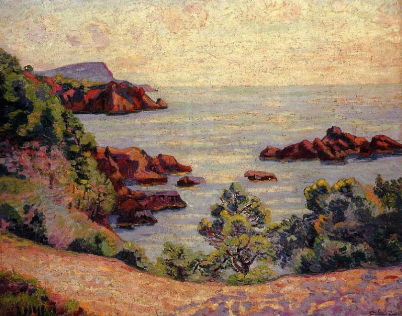 Midday Landscape 1905   Armand Guillaumin   oil painting