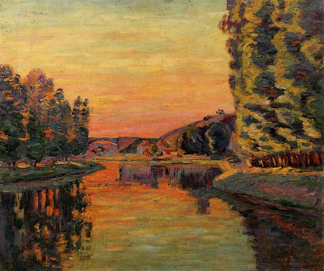 Moret July 1902 1902 | Armand Guillaumin | oil painting