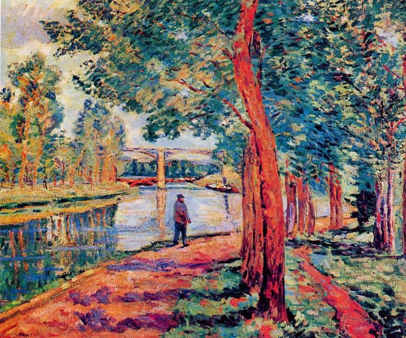 Moret 1902 | Armand Guillaumin | oil painting