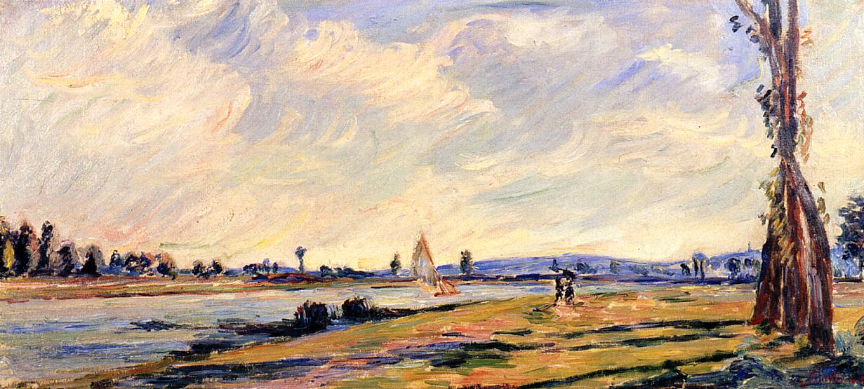 The Banks of the River | Armand Guillaumin | oil painting