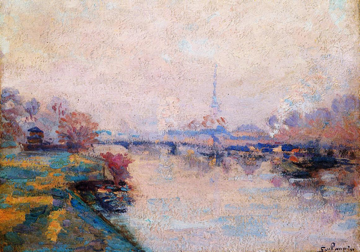 The Banks of the Seine at Paris | Armand Guillaumin | oil painting
