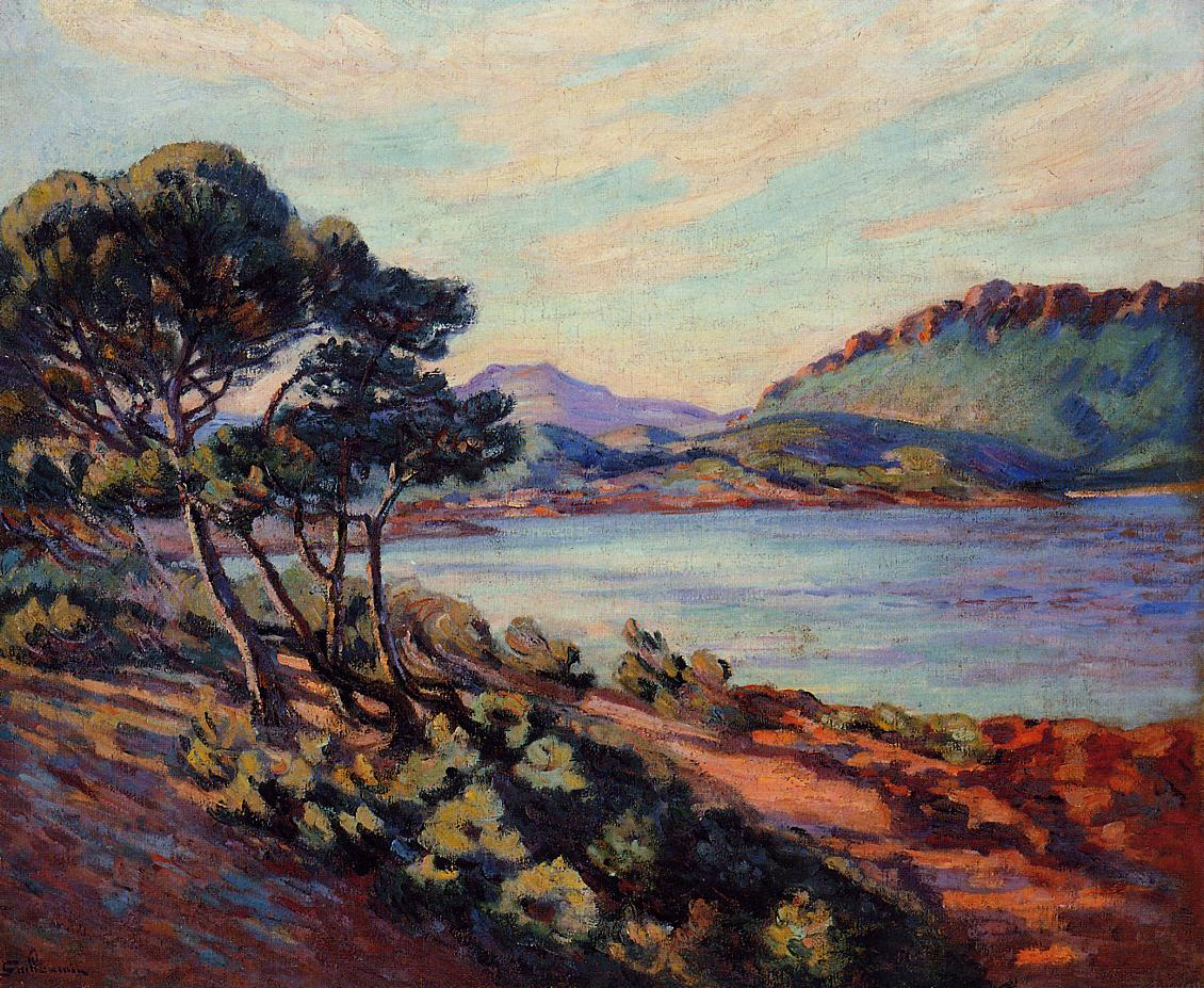 The Bay at Agay 1910 | Armand Guillaumin | oil painting