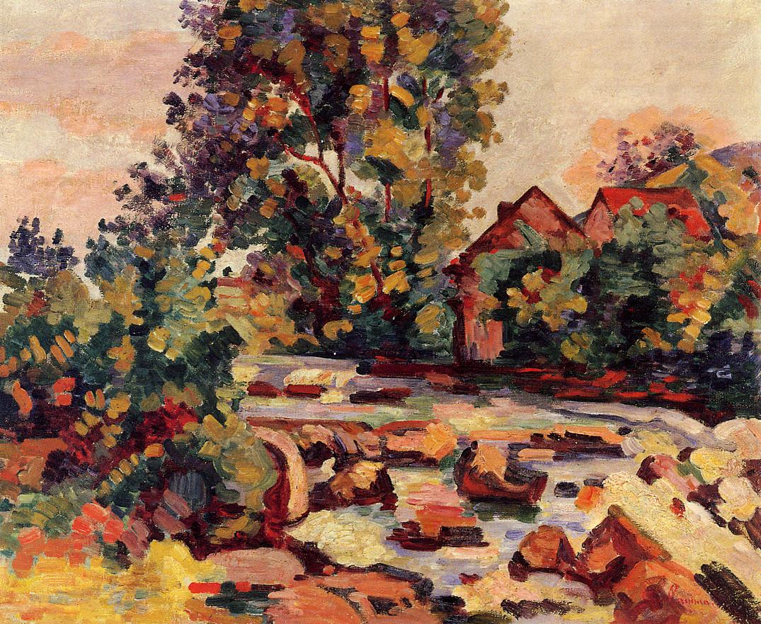 The Bouchardon Lock 1908 | Armand Guillaumin | oil painting