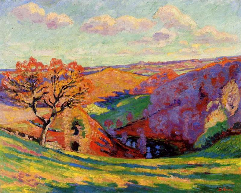 The Creuse at Crozant 1905 | Armand Guillaumin | oil painting