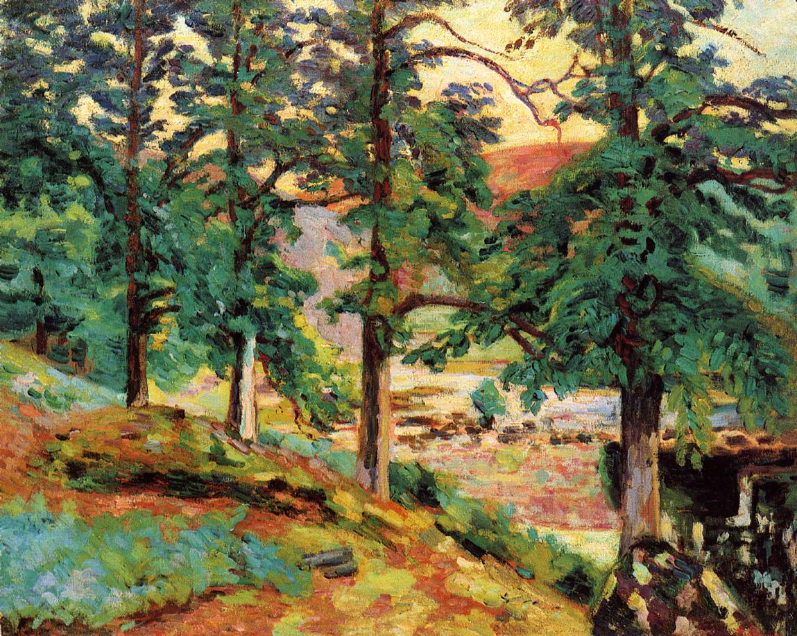 The Creuse 1910 | Armand Guillaumin | oil painting