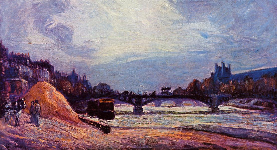 The Pont des Arts 1878 | Armand Guillaumin | oil painting