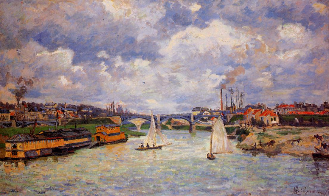 The Seine at Charenton 1878 1 | Armand Guillaumin | oil painting