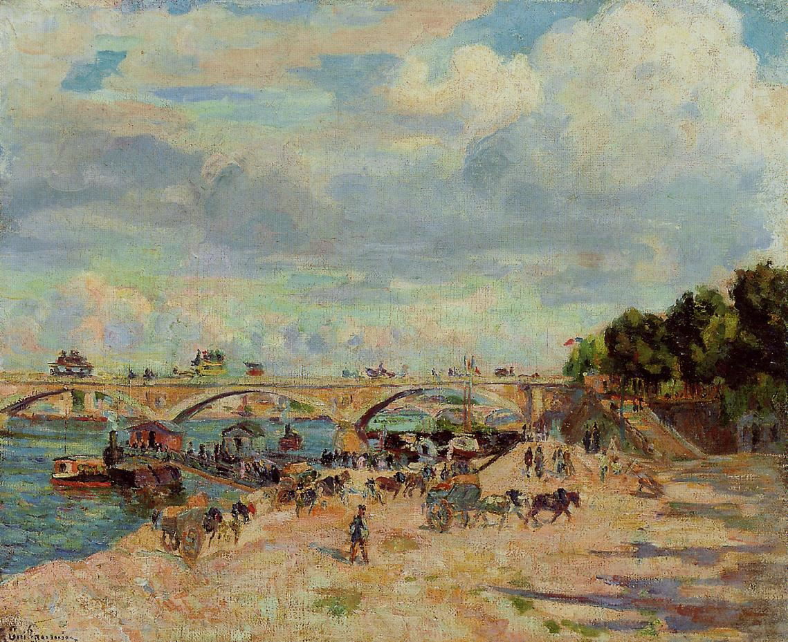 The Seine at Charenton 1880 | Armand Guillaumin | oil painting