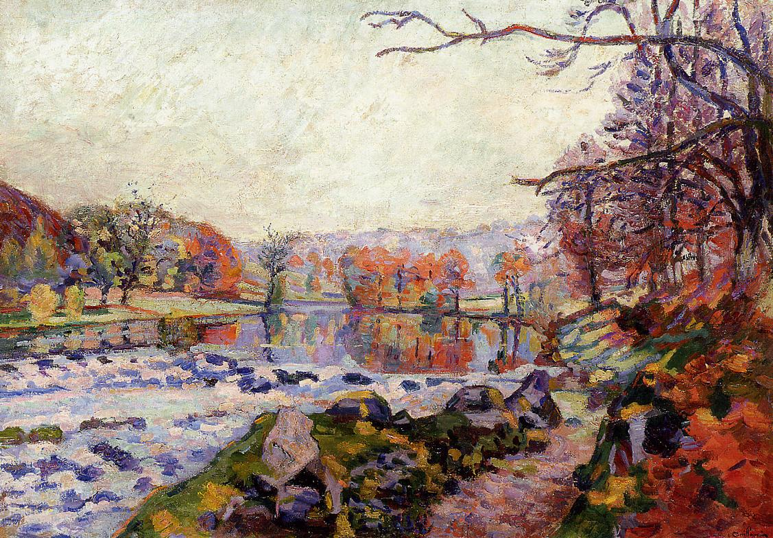 The Valley of the Creuse | Armand Guillaumin | oil painting