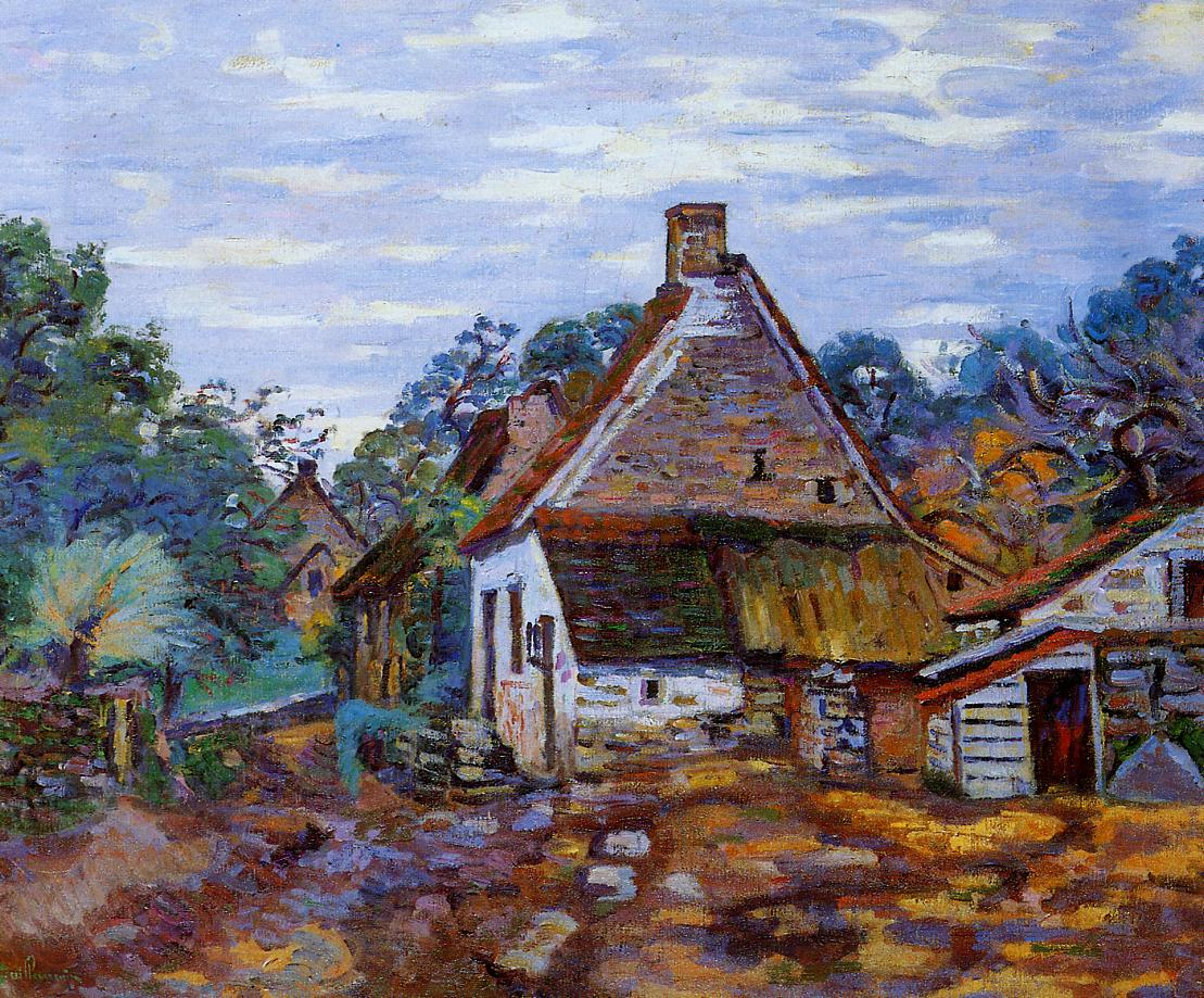 Village | Armand Guillaumin | oil painting